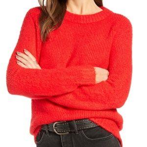 Treasure & Bond | Orange Flame Knit Sweater S NWOT